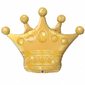Golden Crown Large Foil Balloon | Wholesale Prices